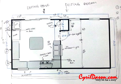 A good renovation contractor: The 5th kitchen plans. Any comments?