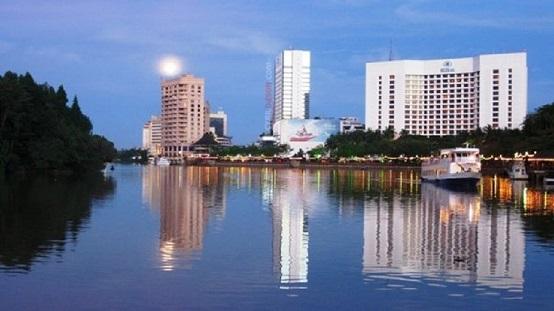 Kuching's skyline is changing.