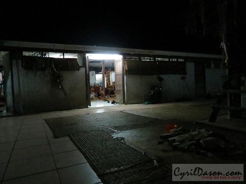 The 'Bori Gawea', or 'Gawai house', where the whole ritual happens at 4am.