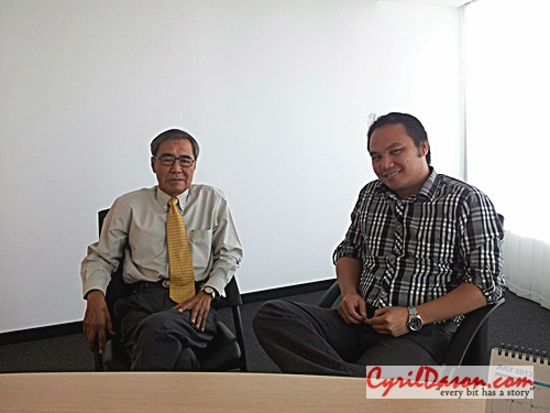 A photo with Dr Don at his office at BCCK