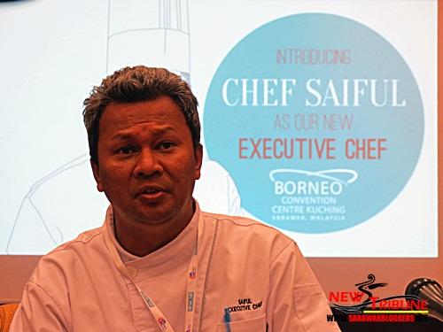 Chef Saiful from Kelantan. Also a die hard Kelantan FA fan. Gomo Kelante Gomo!