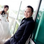 Cyril Dason pre-wedding