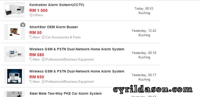 Alarm systems on sell on Mudah.my which are so much cheaper, but are they guaranteed to work?