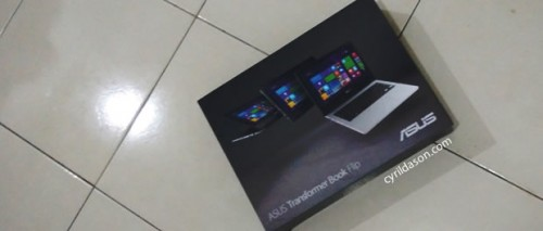 The final choice, the Asus Transformer Book TP300LD