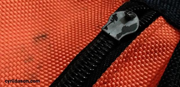 broken zip