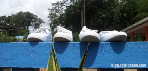shoes, student, drying shoe, house