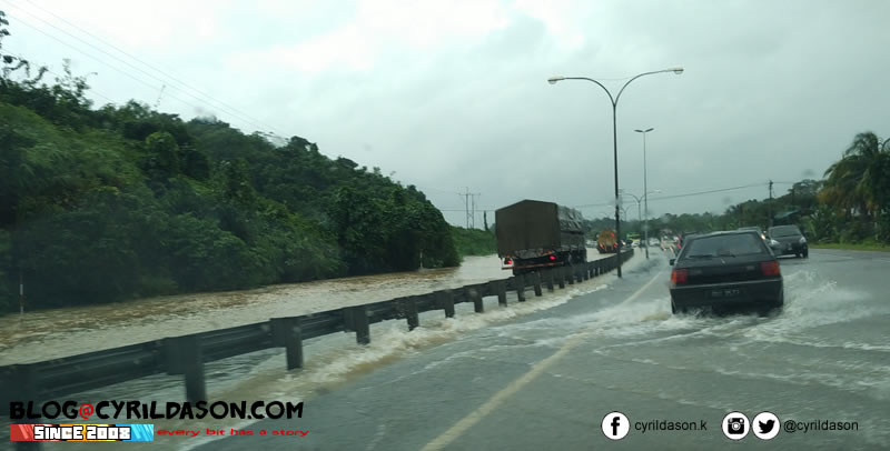 Flood in Kuching