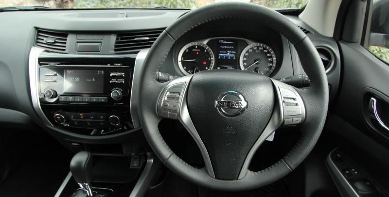 Nissan Navara interior steering