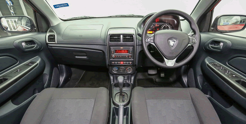 The interior looks cheap, and similar to the version it replaces