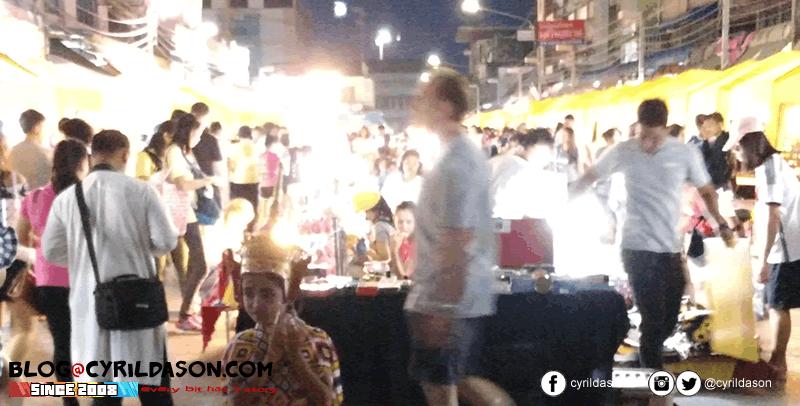 The famed Krabi Night market