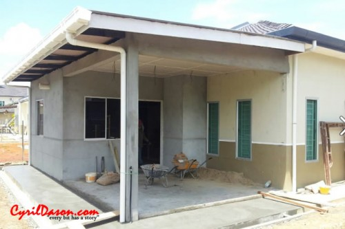 A good renovation contractor: House external without paint