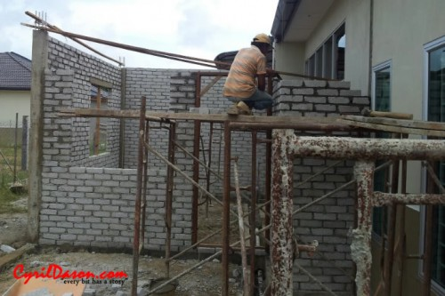 A good renovation contractor: House external without plaster