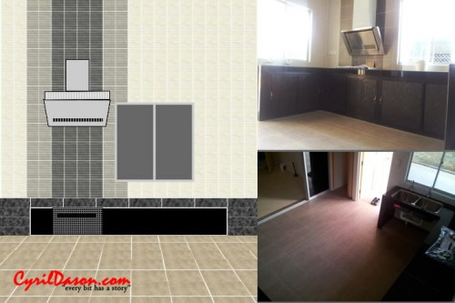 A good renovation contractor: House internal kitchen, design and new