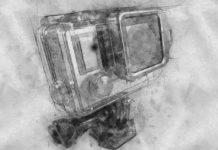 Action Camera sketch