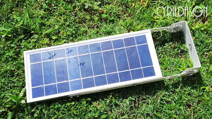 Alpha 1080 X Solar Street Light panel