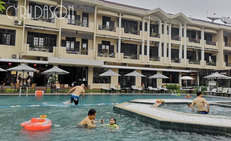 Hoi An Historic Hotel pool
