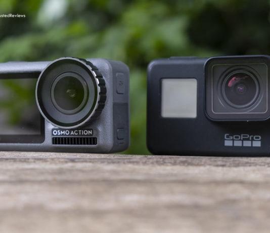 GoPro Hero7 vs Osmo Action