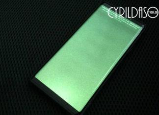 Samsung Galaxy Note9 green screen problem