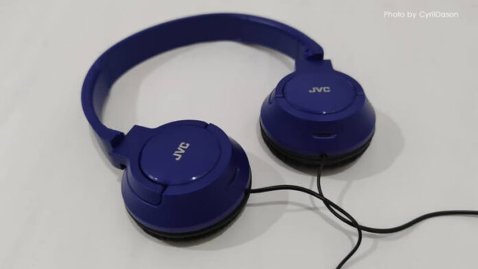 JVC HA-SR185-A Stereo Headphones