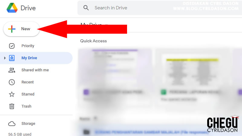membuat ujian dengan menggunakan Google Forms